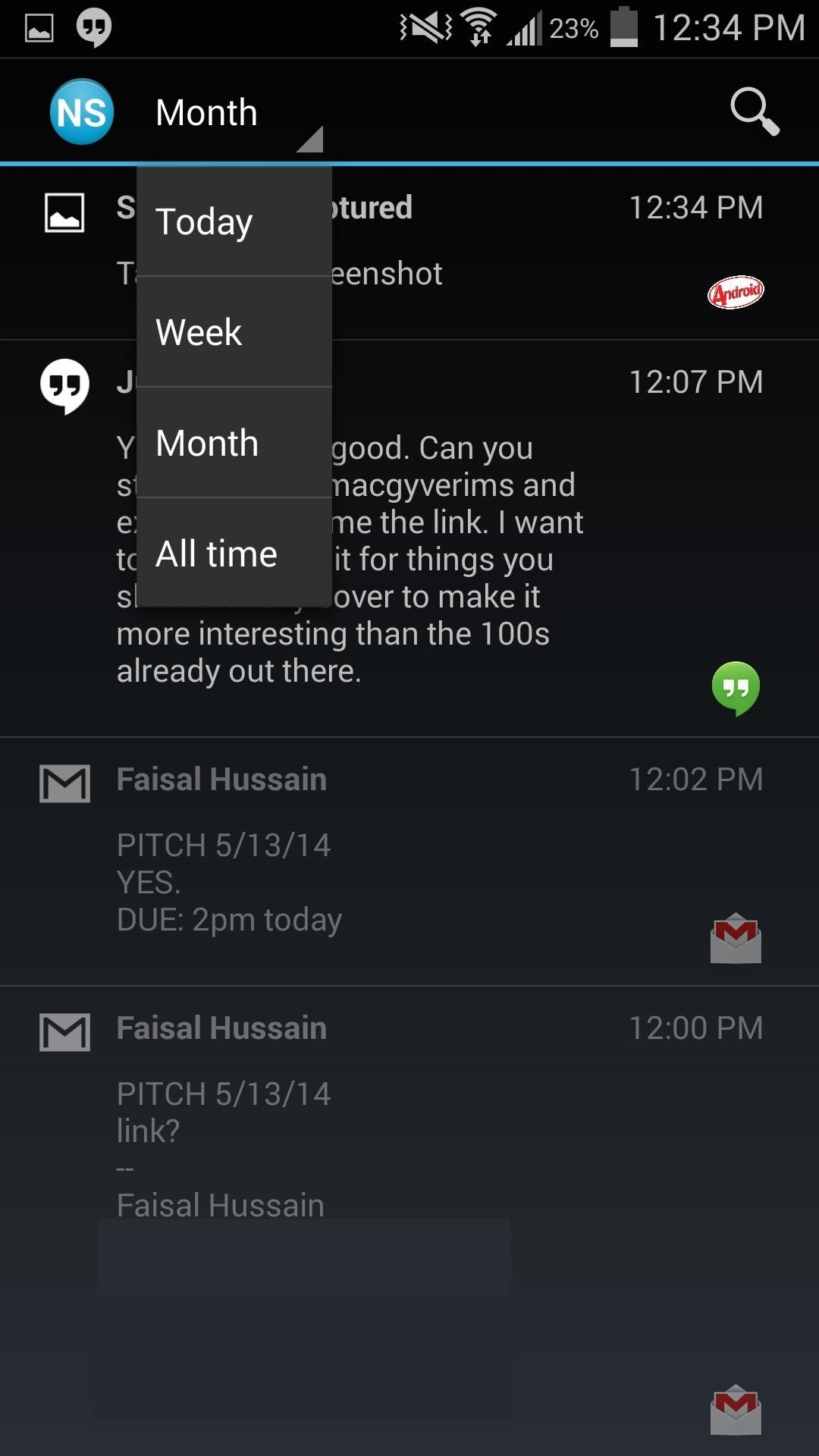 How to Save & Search Through Your Entire Notification History on the Samsung Galaxy S4
