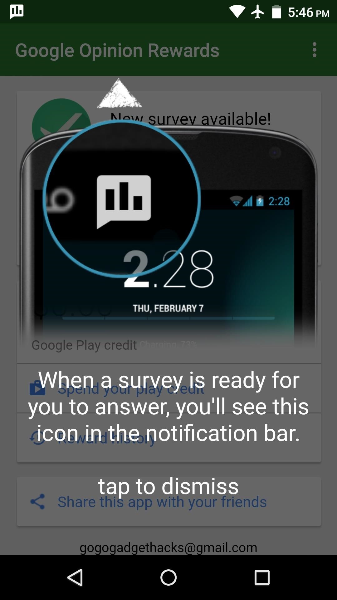 google play credit surveys how to earn free google play credits on android by filling 8929