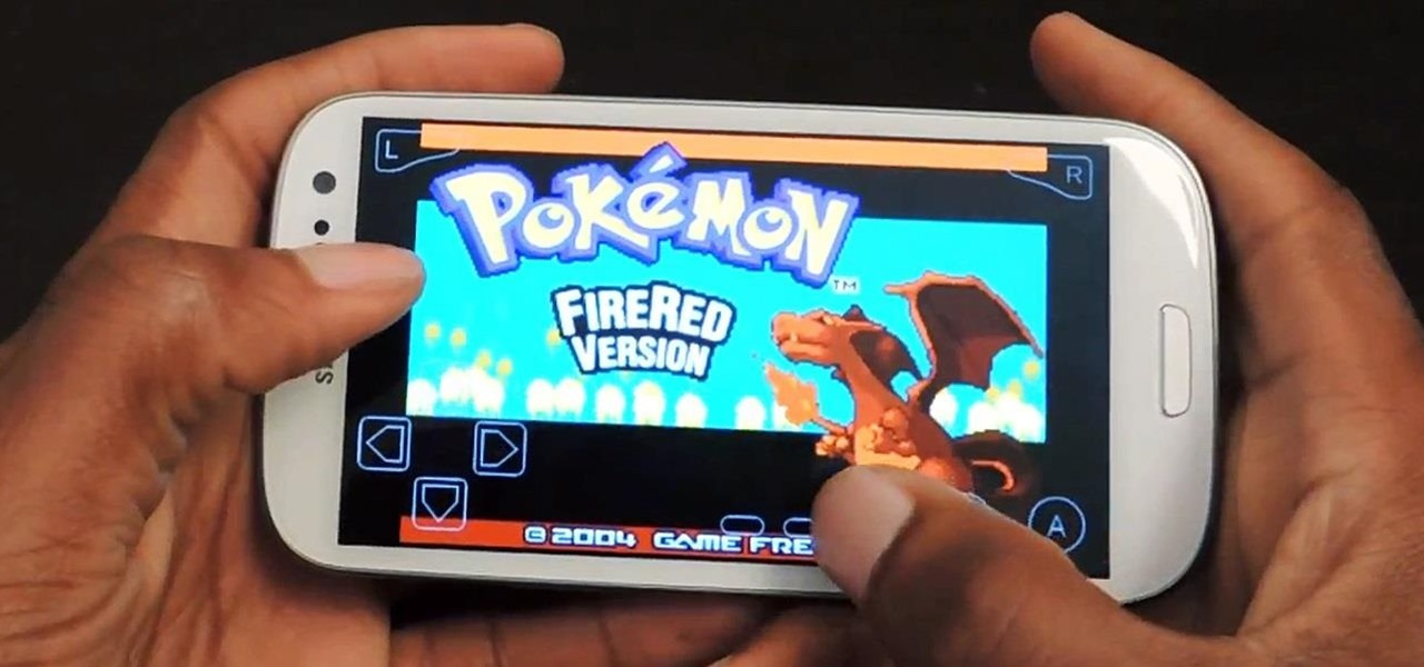Play Pokémon FireRed & Other Game Boy Advance Games on Your Samsung Galaxy S3