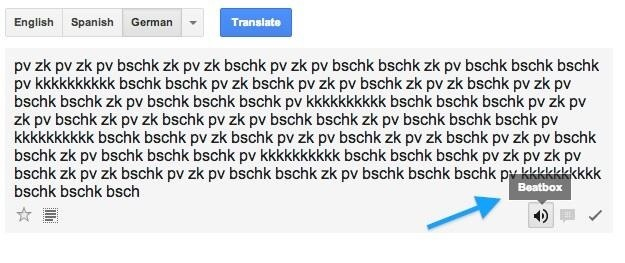 Dropping the Beat: How to Make Google Translate Beatbox for You