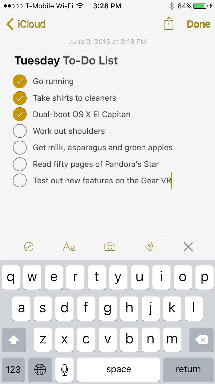 The 10 Best New Features in iOS 9's Notes App for iPad & iPhone