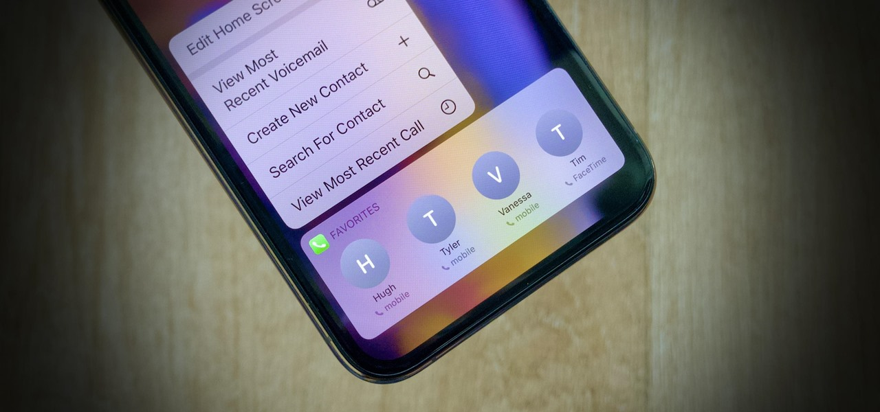 Get Back the 'Favorites' Phone Widget on Your iPhone's Home Screen or Today View in iOS 14