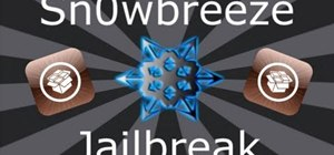 Jailbreak an iOS 4.1 Apple iPhone 4, iPad or iPod with Sn0wbreeze 2.1