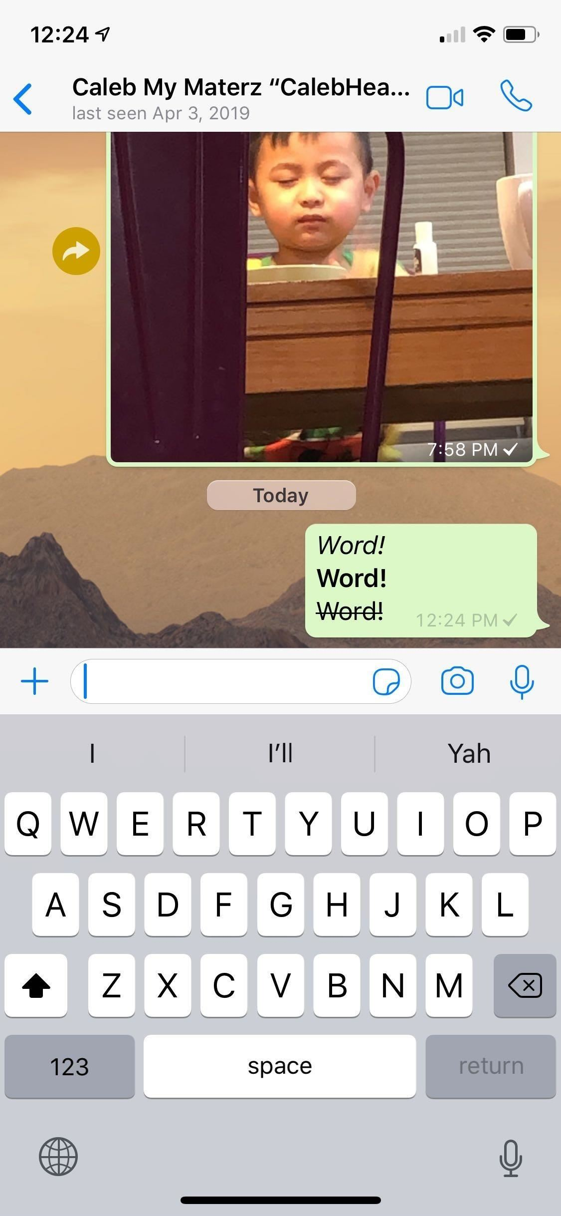 How to Format WhatsApp Messages with Italic, Bold, Strikethrough, or Monospaced Text for Customized Chats