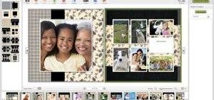 Make a photo book on Lulu.com