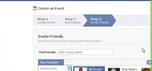 Create an online or offline Facebook event
