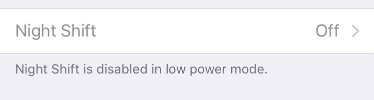 This Trick Lets You Use Night Shift When Your Battery Is Dying