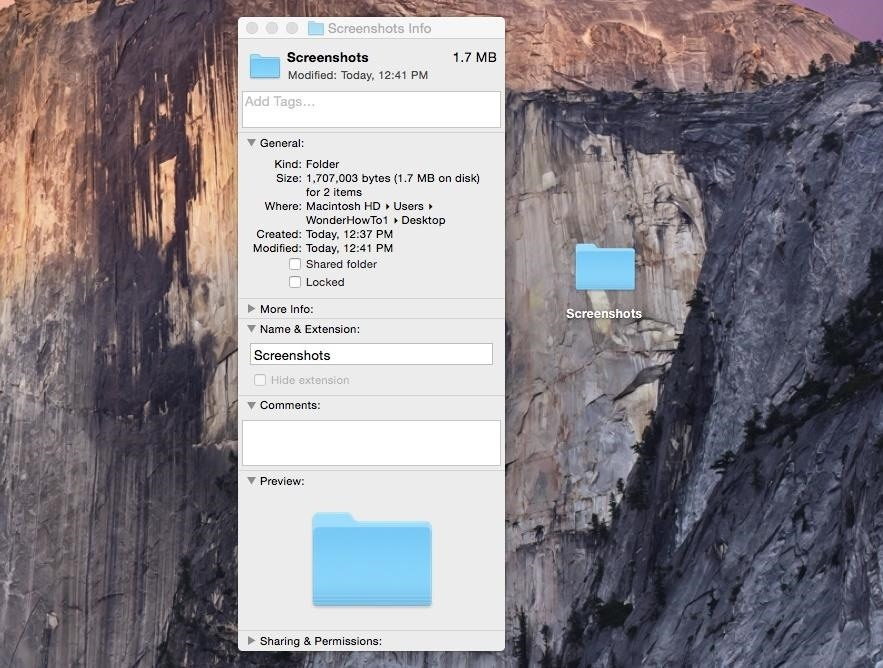 Change the Default Save Location of Screenshots in Mac OS X for a Cleaner Desktop