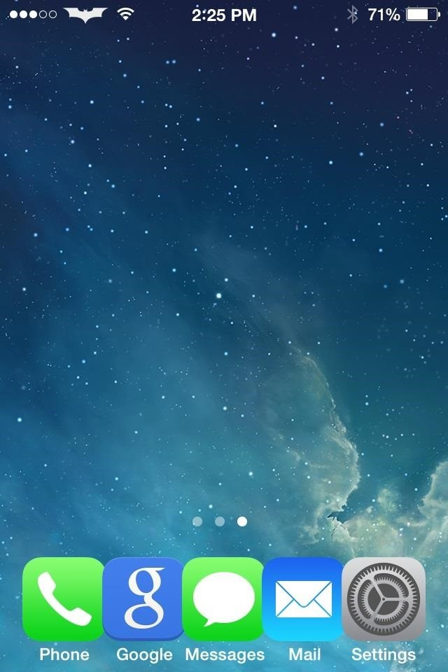 Screw Translucency: Make Your iPhone's Dock Background in iOS 7 Transparent Instead