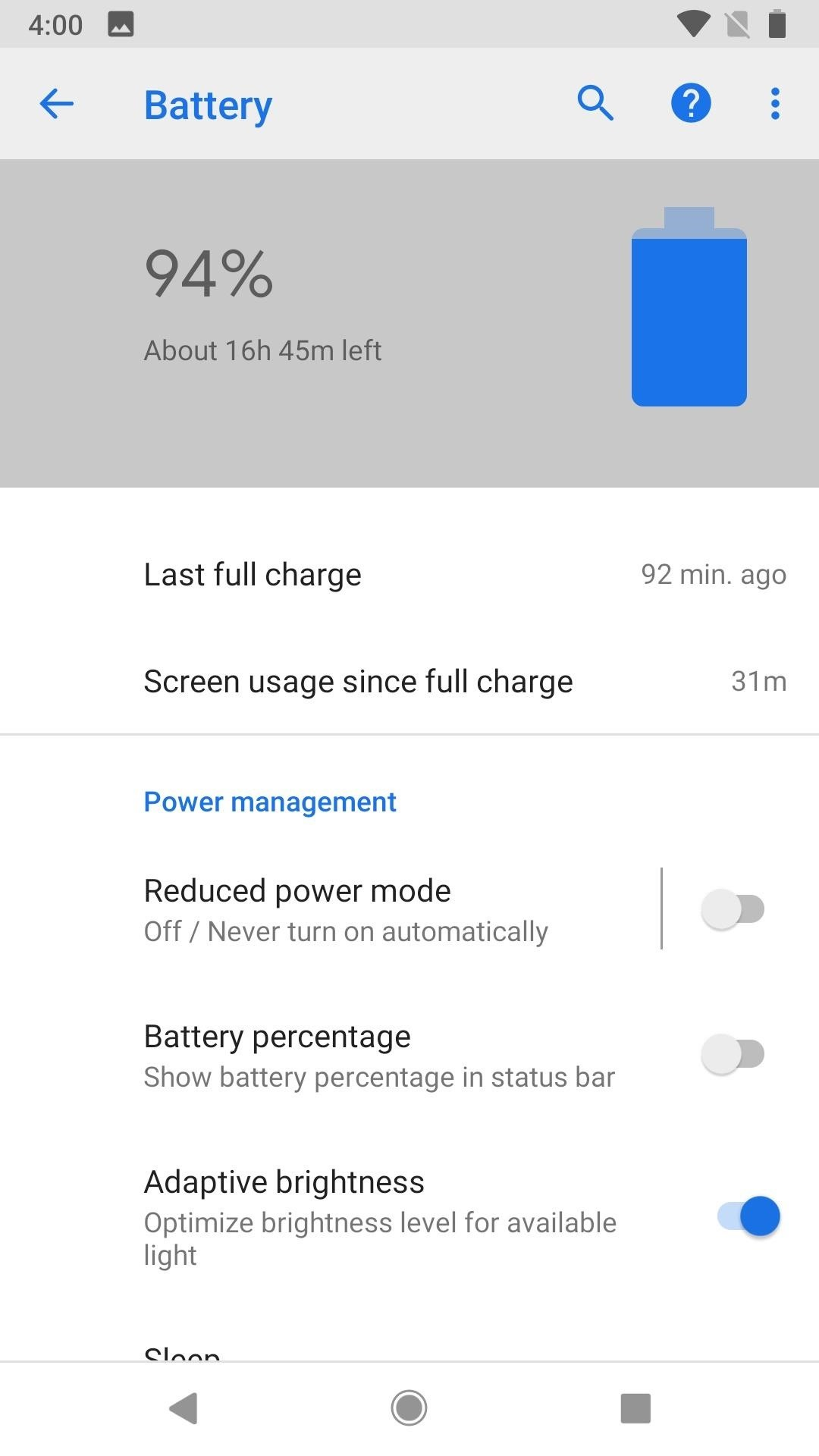 How to Get Oreo's Battery Menu Back on Android P (9.0)