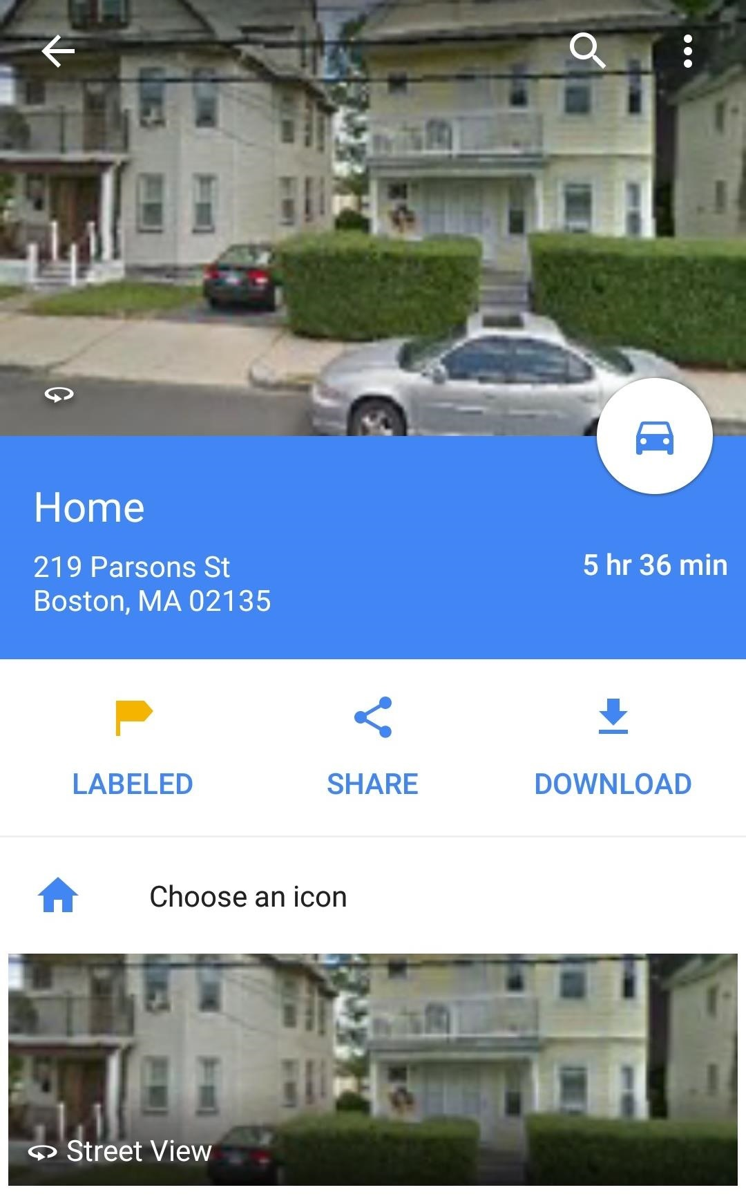 Label Your Favorite Places on Google Maps with Stickers