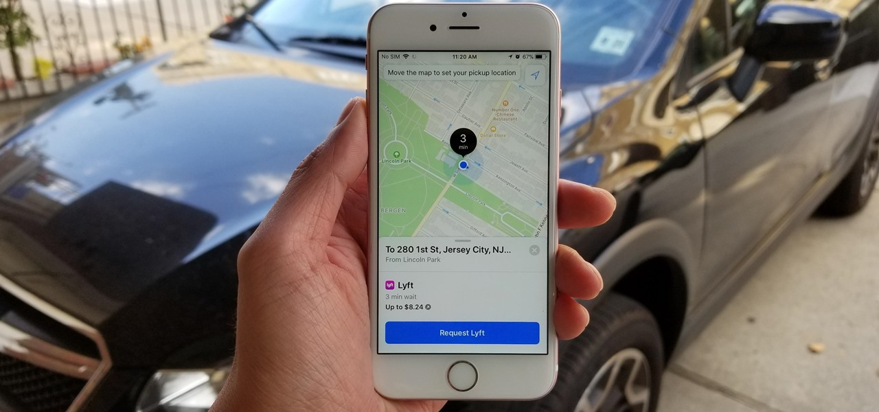 Catch a Ride with Lyft or Uber Straight from Apple Maps in iOS 11