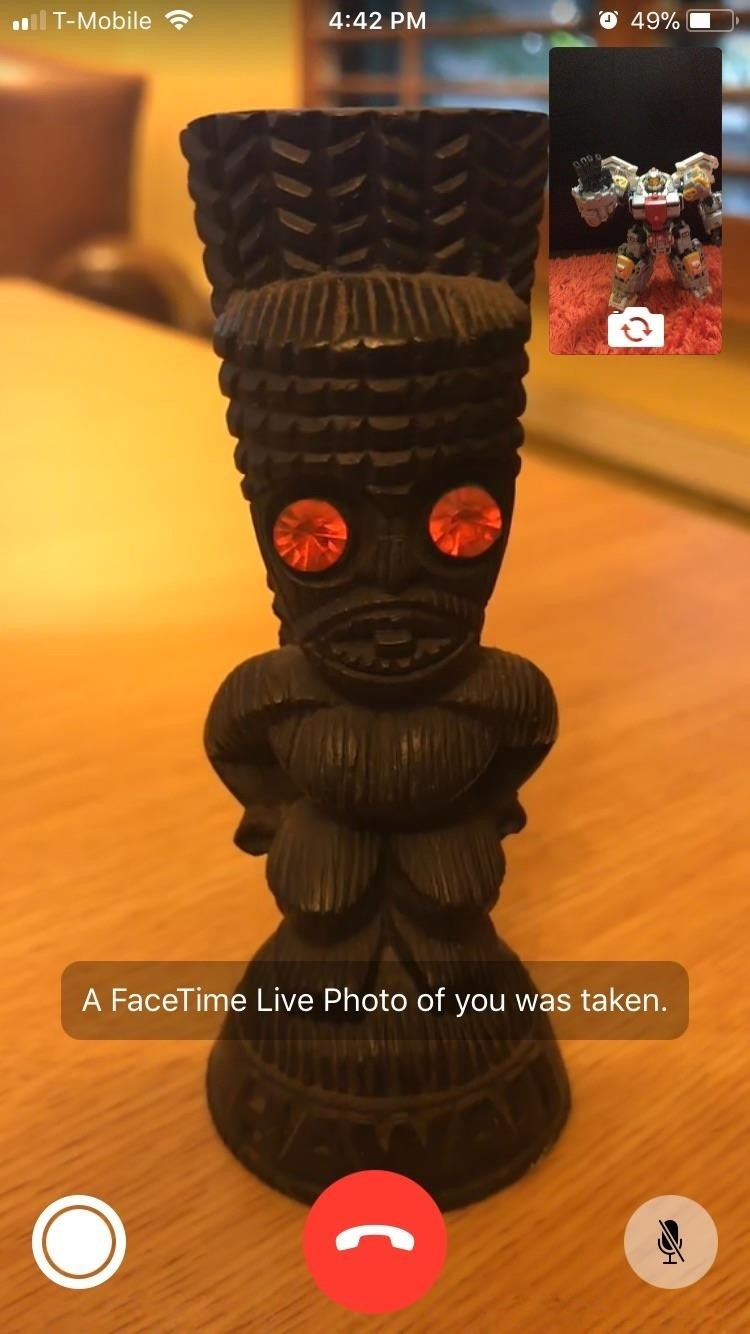 FaceTime 101: How to Take or Disable Live Photos During a Video Call