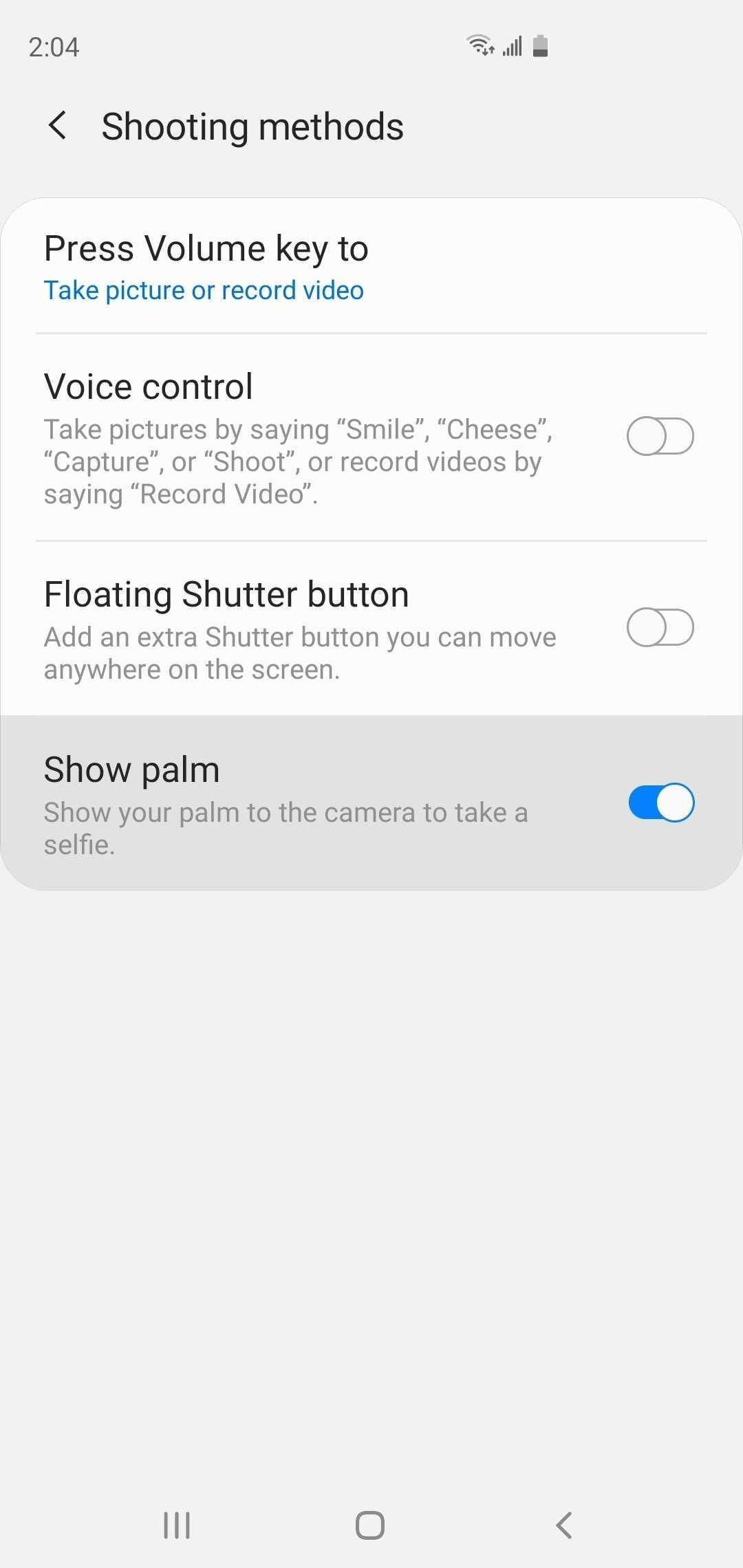 There's a Hands-Free Way to Take Selfies on Your Galaxy