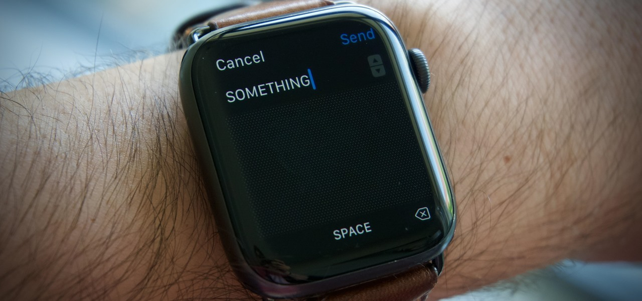 The Secret to Typing in All Caps on Apple Watch