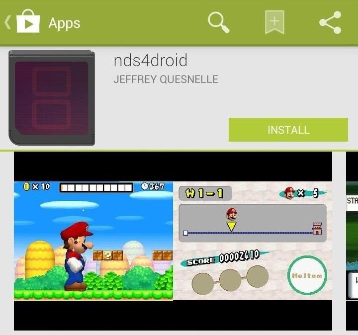How to Play Nintendo DS Games on Your Samsung Galaxy Note 2