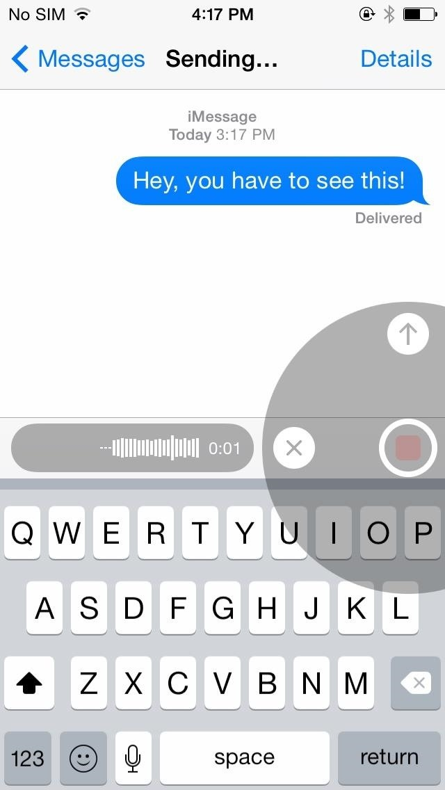 How to Send Audio, Picture, & Video Messages Faster on Your iPhone in iOS 8