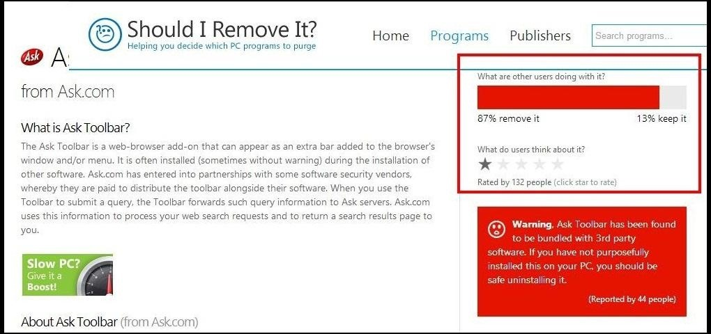 """Should I Remove It?"" Helps You Rid Your Windows PC of Bloatware and Unwanted Programs"