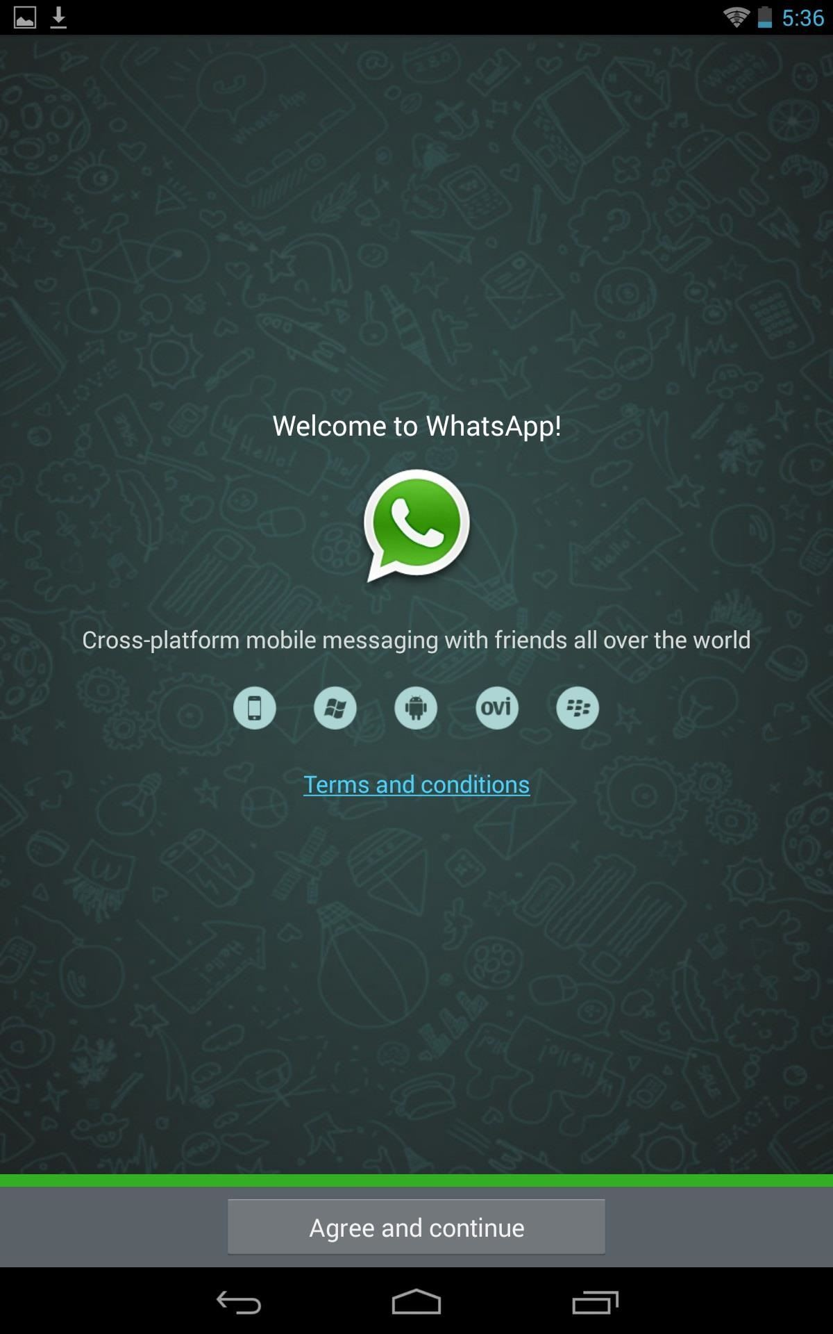 How to Set Up WhatsApp on Your Nexus 7 Tablet—Without Rooting