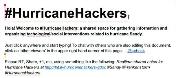 How to Track the Super Storm Hurricane Sandy Live