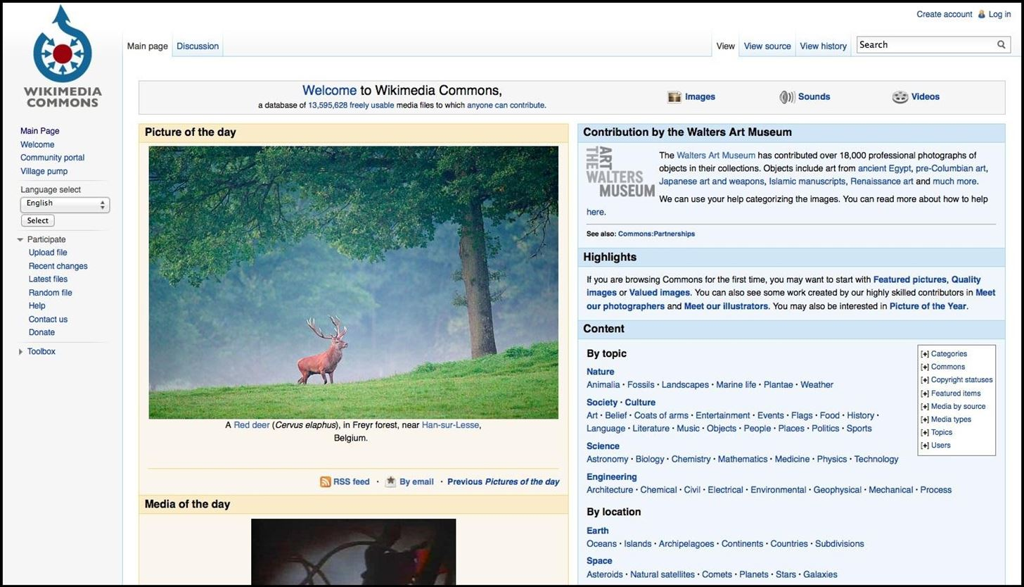 Your Guide to Finding Free Creative Commons Images and Other Media Online