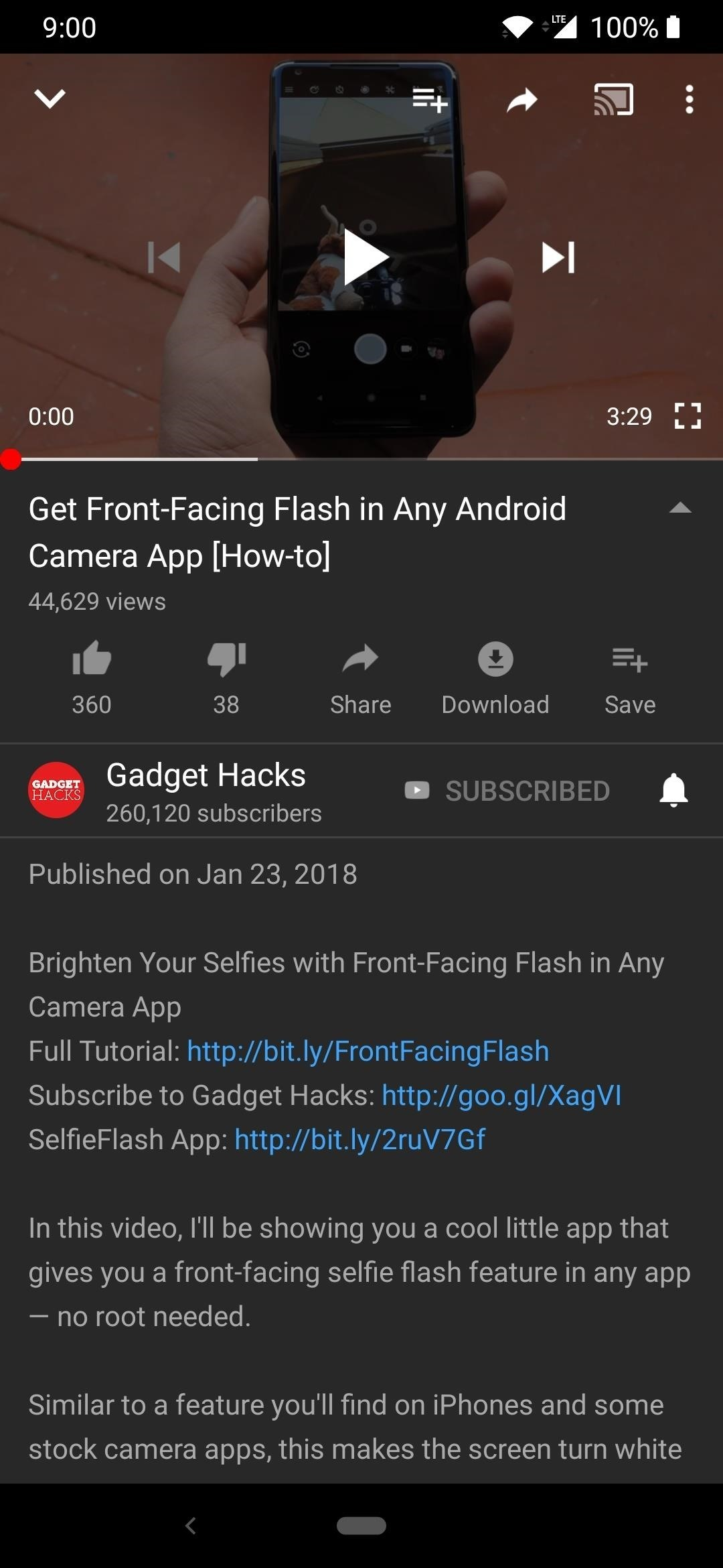 Save Up to 60% Battery Life by Enabling Dark Mode in the YouTube App
