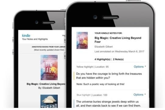Finally: Smartphone Users Can Easily Access Their Kindle Notes & Highlights