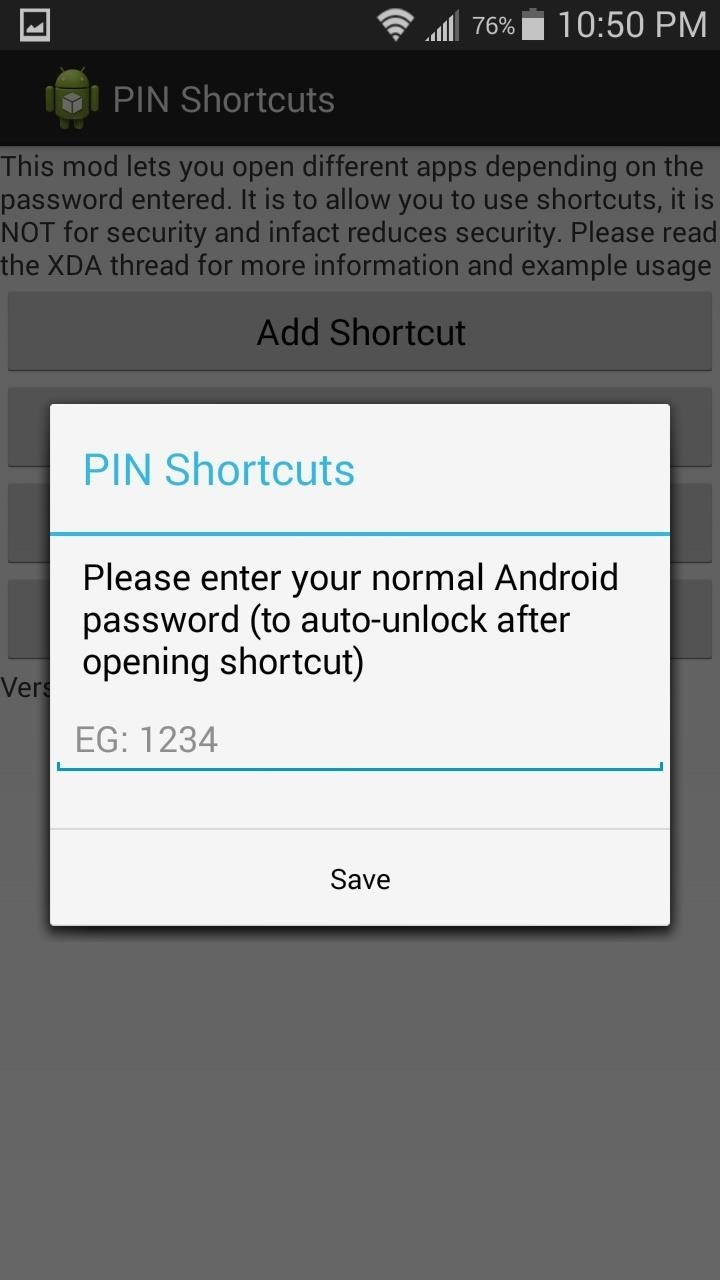 Assign Apps Individual PINs & Passwords to Quick Launch Them from Your Lock Screen