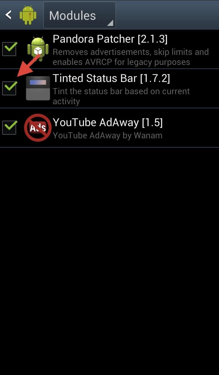 How to Make Your Status Bar's Color Auto-Match Current Apps on Your Galaxy S3