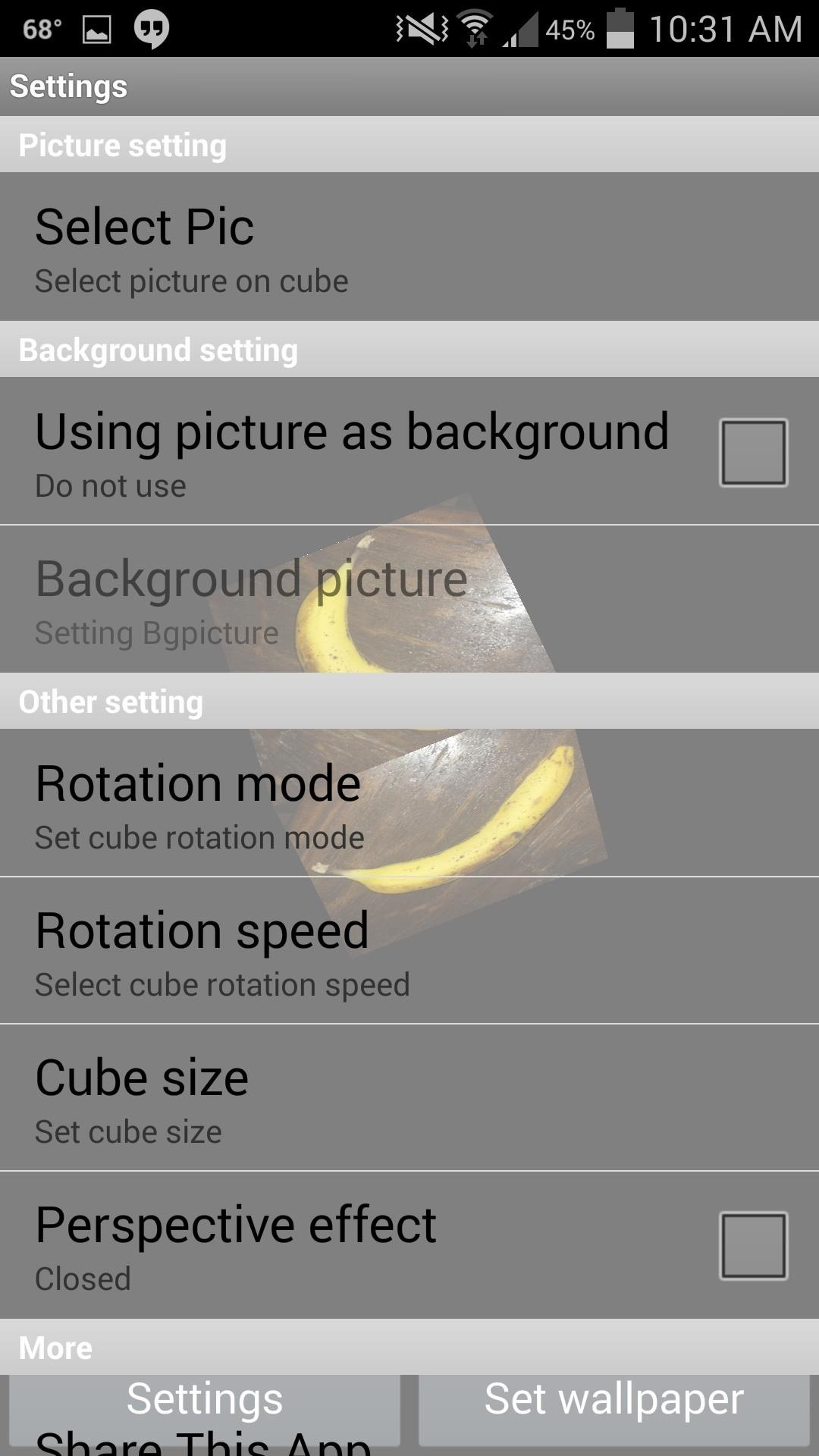 How to Create a Rotating 3D Cube Live Wallpaper on Your Galaxy S4