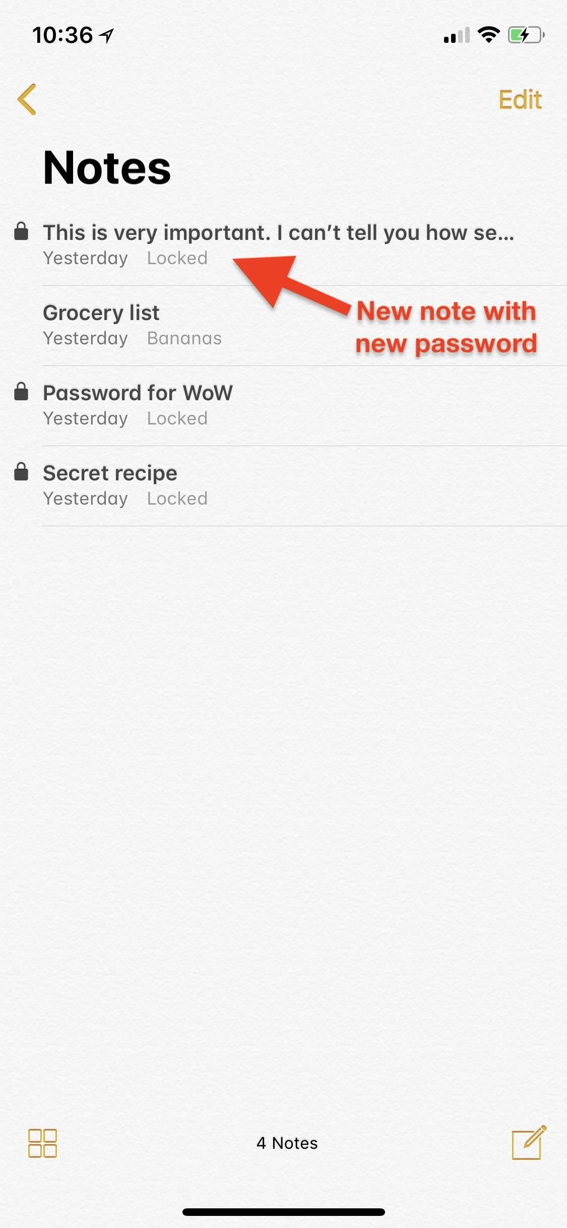 Notes 101: How to Lock Notes with Face ID or Touch ID (& Password Protection)