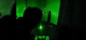 Make a simple green laser projector
