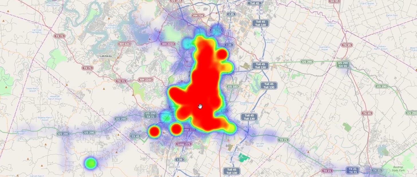 How to Make Interactive Heat Maps from Your Android Device's Location History