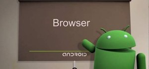 Use the web browser on Android cell phones (2.0)