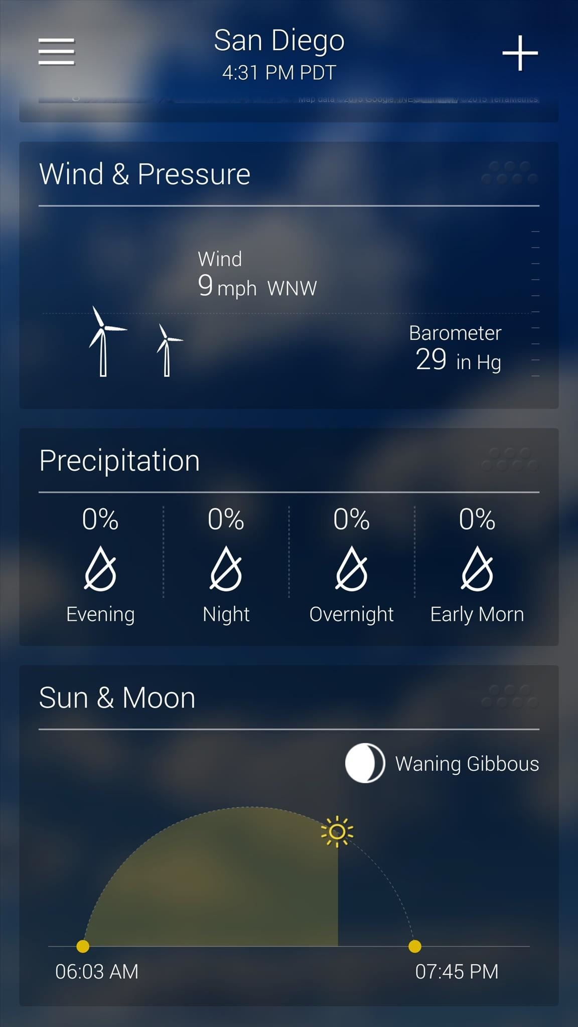The  Best Weather Apps For Android  Android  Gadget Hacks - Yahoo us weather map
