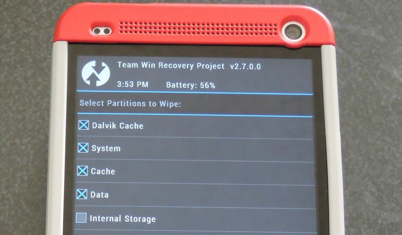 How to Install a Custom ROM on Your HTC One for a Completely