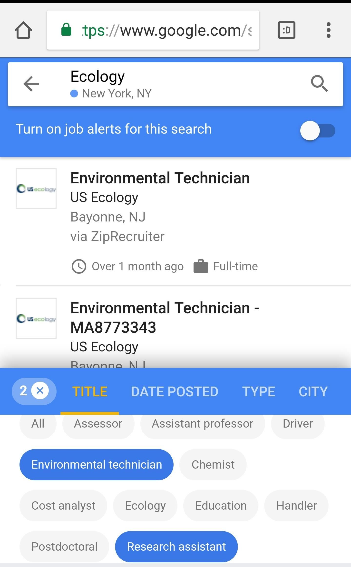 Google Can Now Help You with Your Job Search