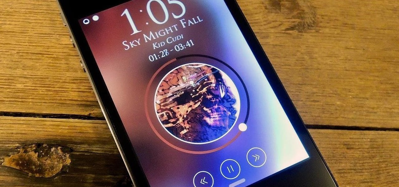 Pimp Out Your iPhone's Lock Screen Music Player