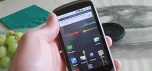 Restore ROMs on a Nexus One smartphone with Nandroid