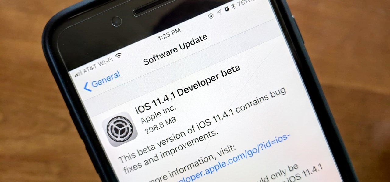 iOS 11.4.1 Beta Released for iPhones, Includes 'Bug Fixes & Improvements' Only