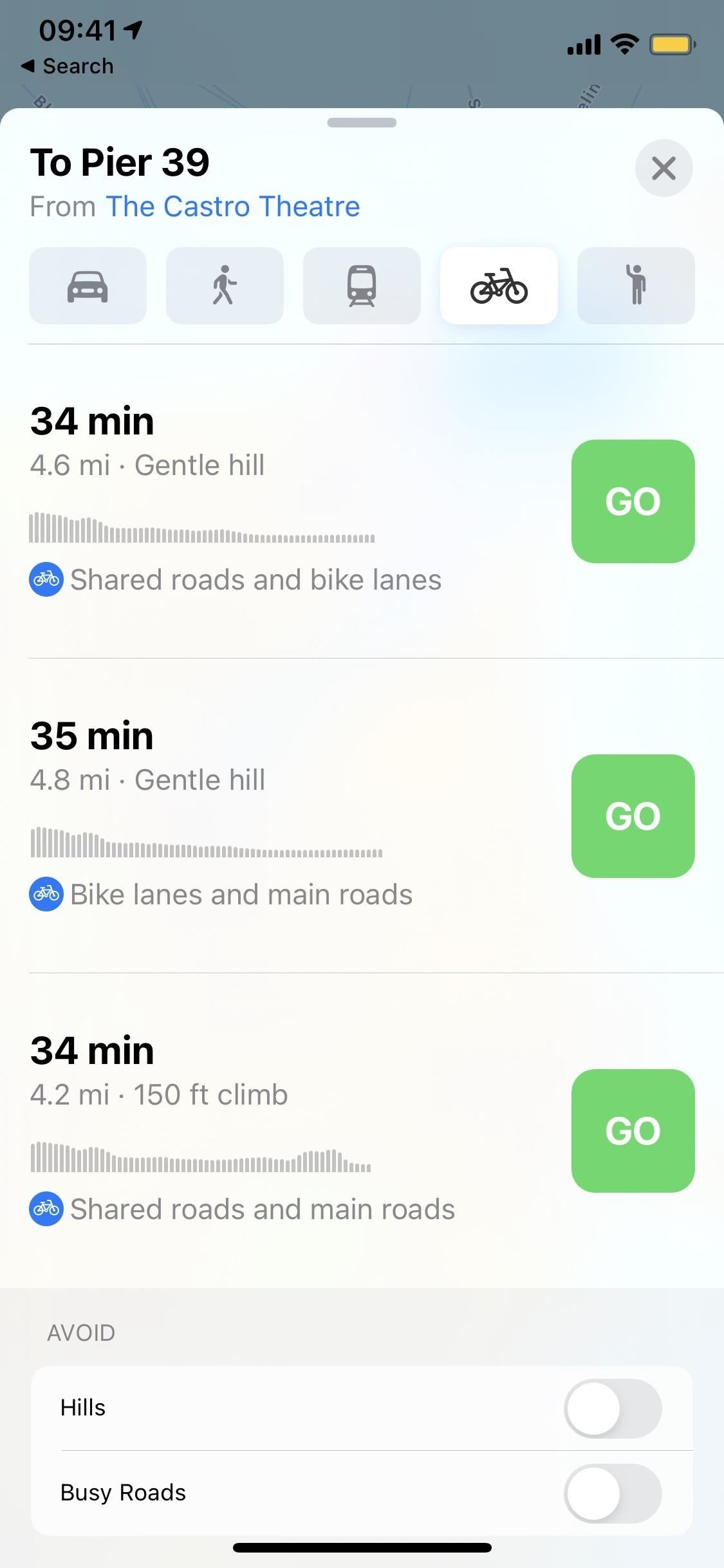 iOS 14 Make bike paths better and safer with bike paths in Apple Maps