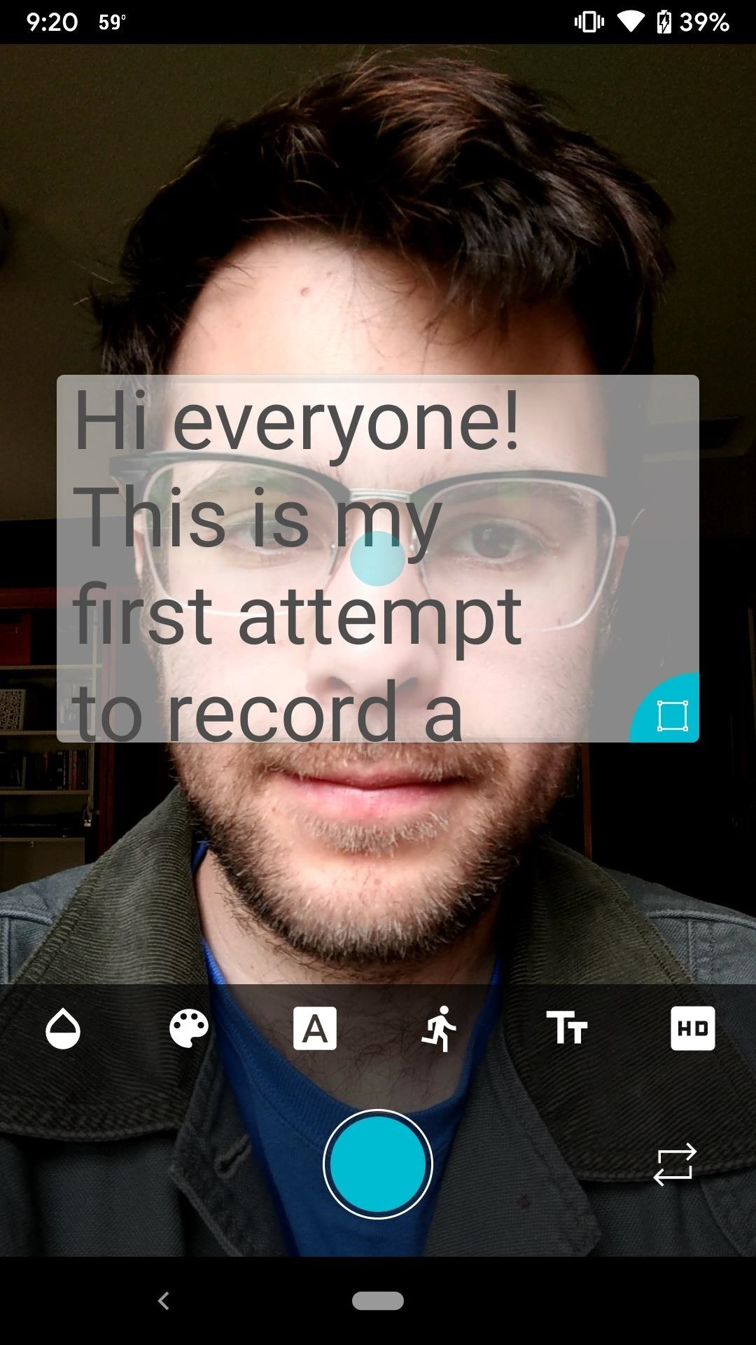 Turn Your Phone into a Teleprompter to Record Selfie Videos Without Breaking Eye Contact