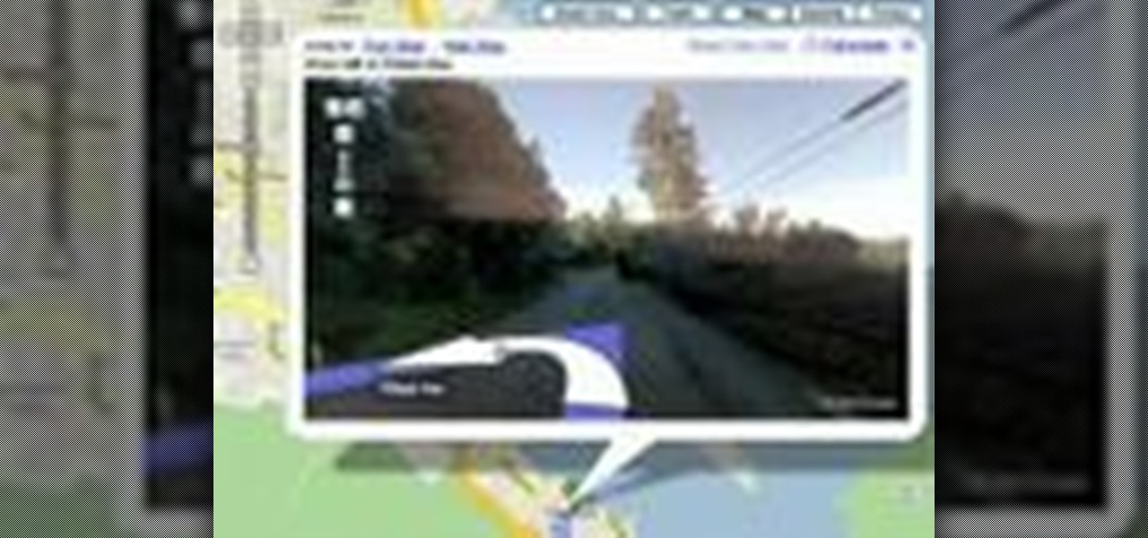 How to Use driving directions with street view on Google maps ... Driving Directions With Street View On Google Maps on