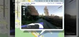 Use driving directions with street view on Google maps