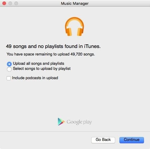 google music manager wont open windows 10