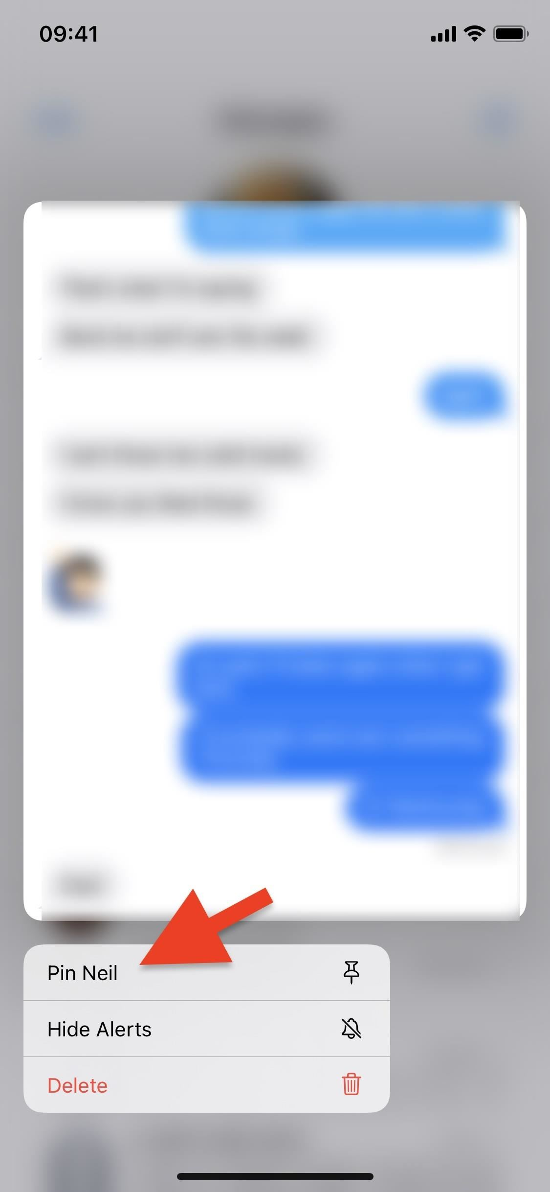 How to Pin Conversations to the Top of Messages in iOS 14 (& Unpin Them Later)