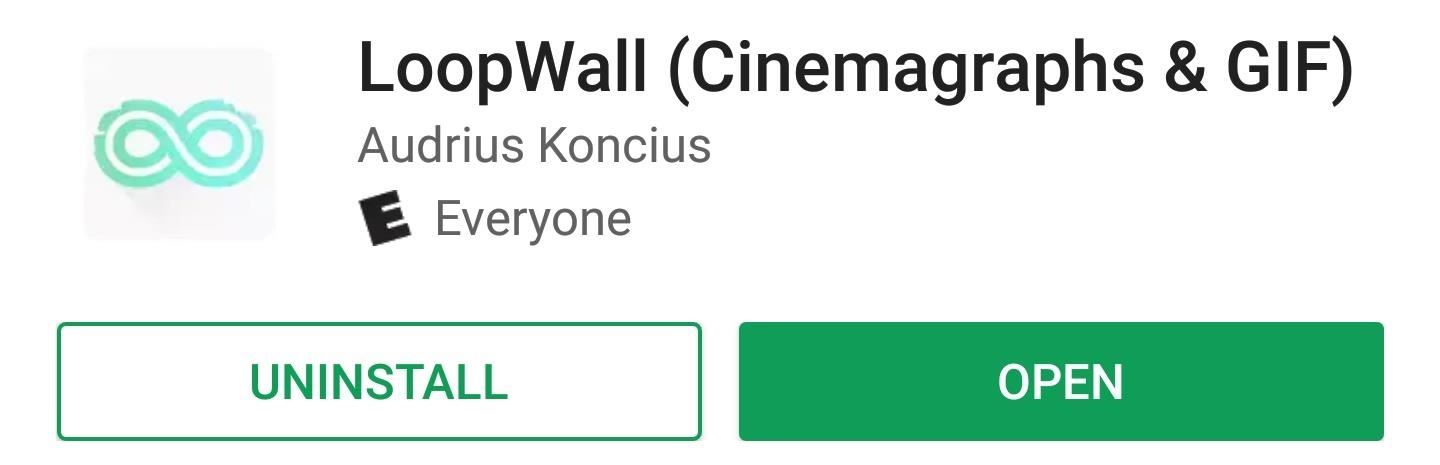 Get Beautiful Cinemagraph GIFs as Your Android's Wallpaper