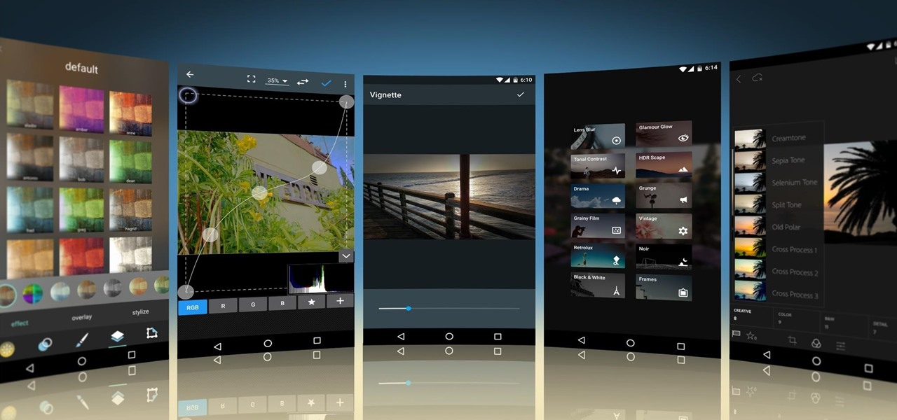 5 Free Photo Editing Apps for Android That Kill the Competition