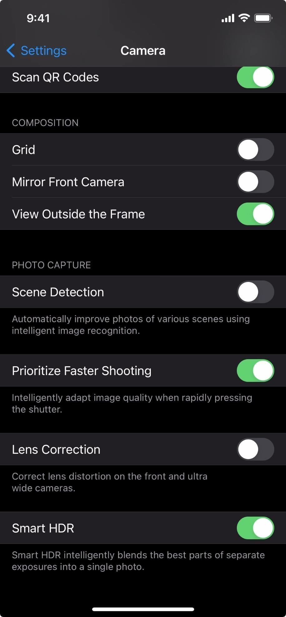 How to Disable Scene Detection for More Control Over Photo Shoots on Your iPhone 12, 12 Mini, 12 Pro, or 12 Pro Max