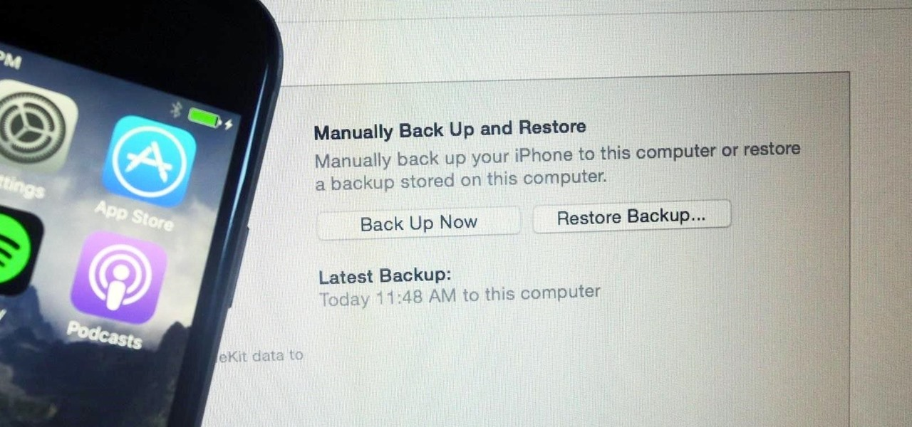 Recover files after factory reset iphone